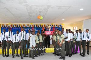 Graduation Cermony at St. Joseph Boys' Science Secondary School, Same diocese